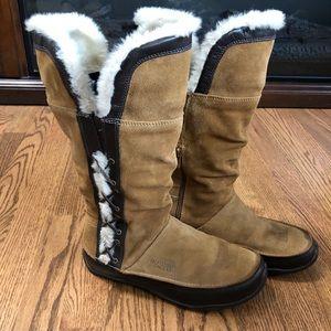 Northface Jozie Brown Snowboots - size 8.5
